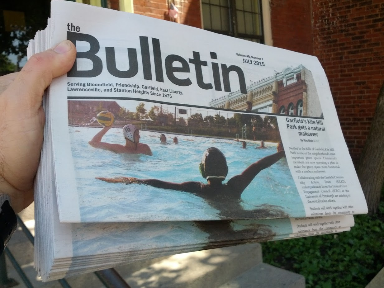 Newspaper with water polo