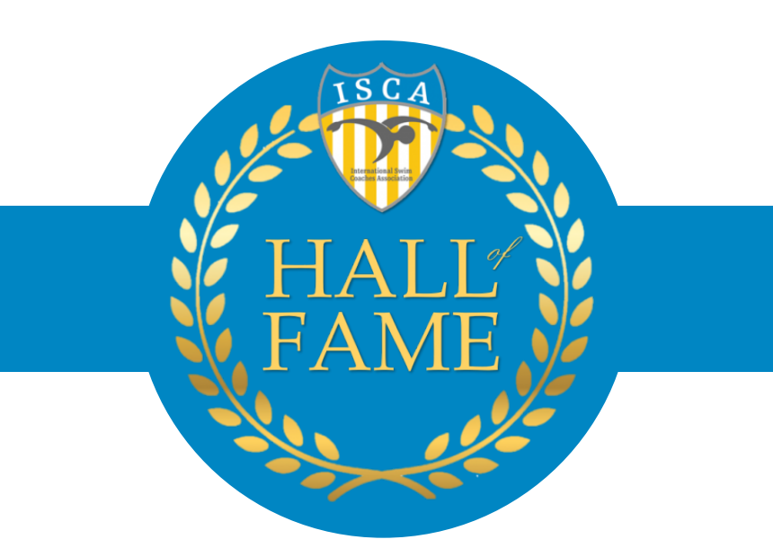 ISCA Hall of Fame program cover with blue band