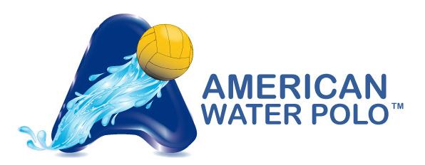 AWP, American Water Polo logo, horizontal