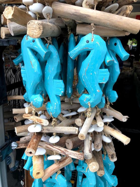 Kona art market sea horses