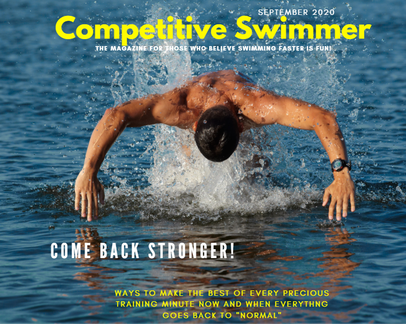 cover of Competitive Swimmer eMagazine