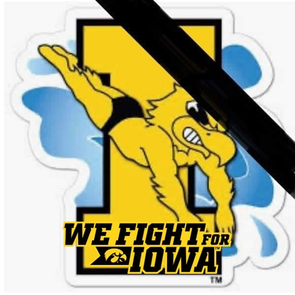 We Fight for Iowa Swimming & Diving