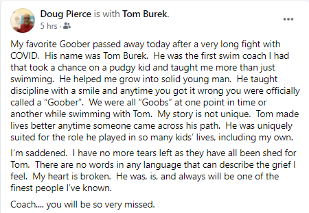 Doug P's comments on FB