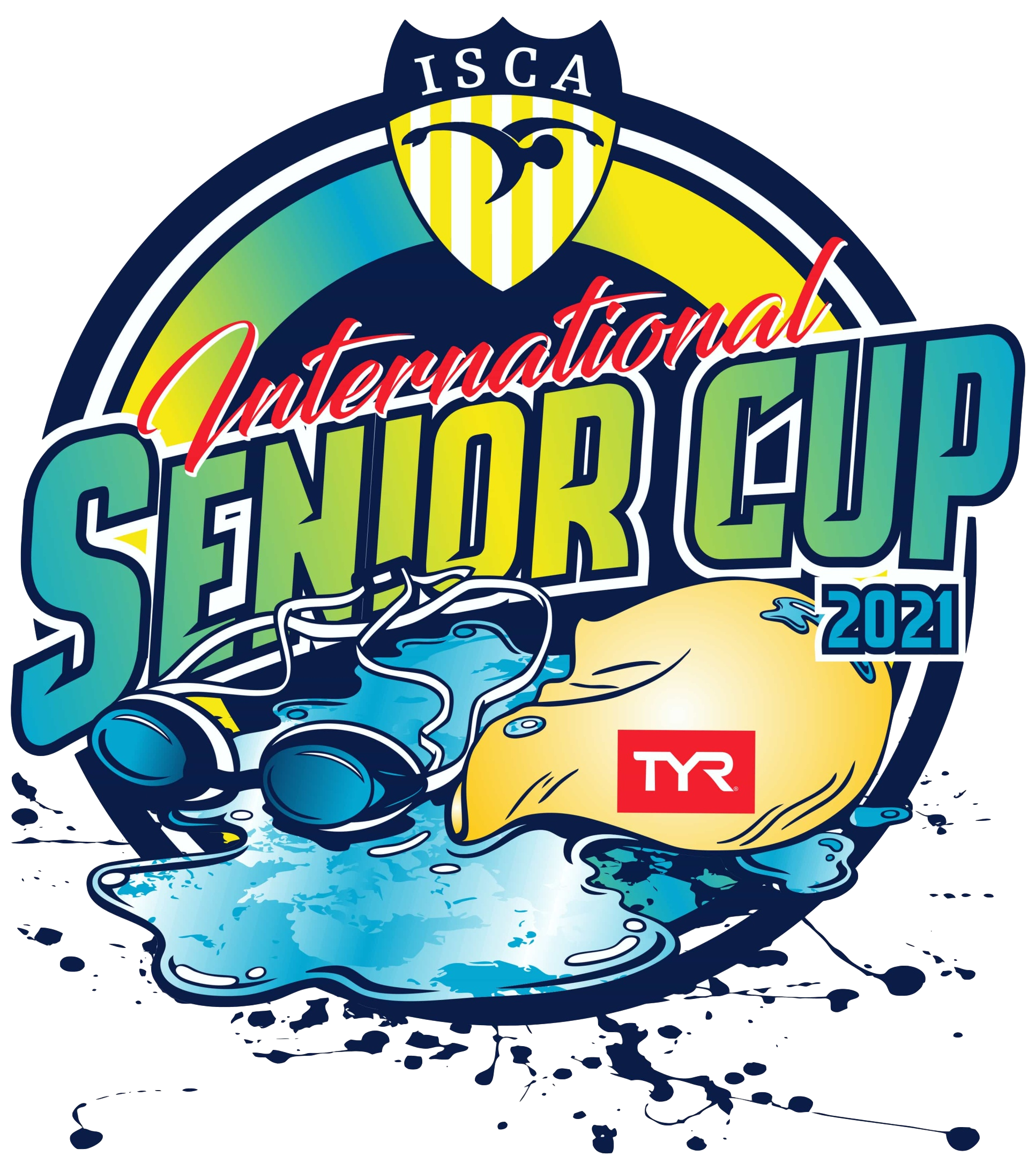 ISCA International Senior Cup 2021 logo
